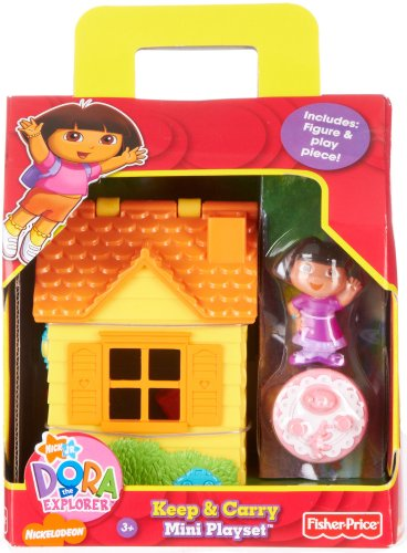 Dora The Explorer Keep & Carry Mini Playset MULTI