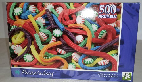 Puzzlebug 500 Piece Puzzle - Swirls and Twirls by LPF