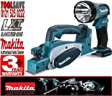 MAKITA BKP180Z 18V 82mm Cordless Planer (Body Only) Plus BML185 18V Cordless Torch