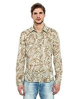 Energie Camisa Hombre New Crai (Beige)
