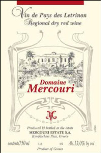 2006 Mercouri Karachohori Ilias 'Estate Red' Refosco Mavrodaphne 750Ml