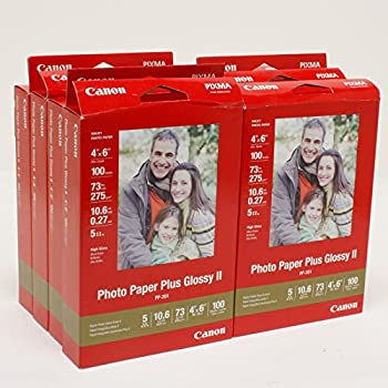 1000-Sheets of Canon Photo Paper Plus Glossy II 4x6
