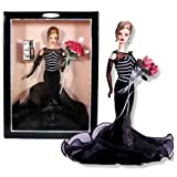 Mattel Year 1999 Barbie Collector Edition 12 Inch Doll Set - 40th Anniversary Barbie With Elegant Go