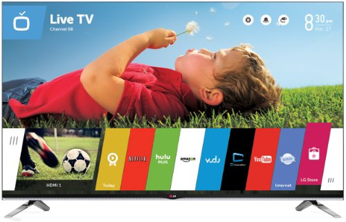Click to buy LG Electronics 55LB7200 55-Inch 1080p 240Hz 3D Smart LED TV (2014 Model) - From only $2500