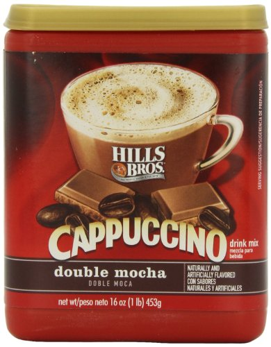 Hills Bros Cappuccino Double Mocha, 16 Ounce (Pack Of 6)