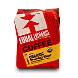 Equal Exchange Organic Coffee Breakfast Blend Ground 12 Ounce Bag  Pack of 3