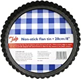 Tala Non-Stick with Loose Bottom Flan Tin, 20cm
