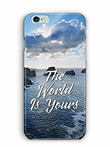 YuBingo The World is Yours Designer Mobile Case Back Cover for Apple iPhone 6S Plus