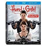 Hansel & Gretel: Witch Hunters (Unrated Cut) (Blu-ray / DVD / Digital Copy + UltraViolet) ~ Jeremy Renner