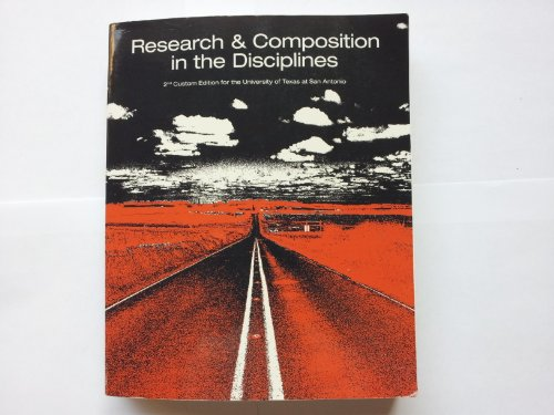 Research and Composition in the Disciplines