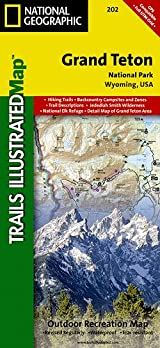 TI Map #202- Grand Teton National Park