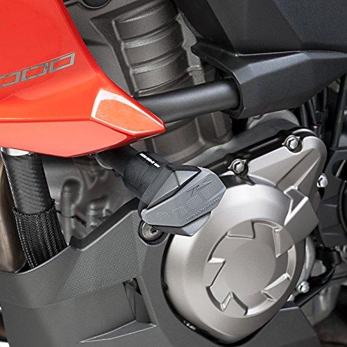 Roulettes de protection Puig R12 Kawasaki Versys 1000 12-16 noir