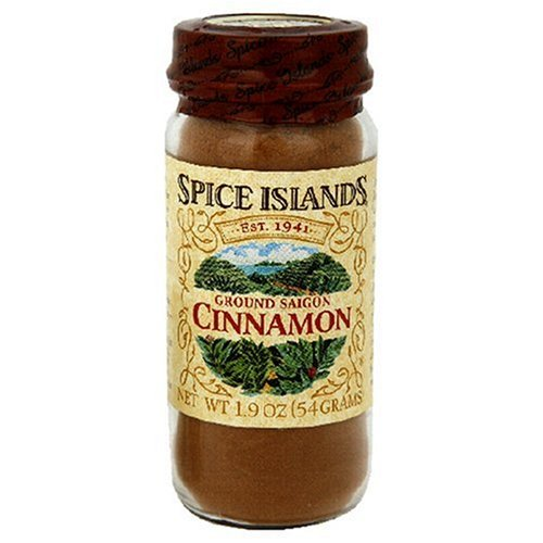Spice Island Ground Saigon Cinnamon, 1.9-Ounce Jar (Pack of 4) (Spice Islands Grinder compare prices)