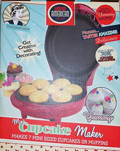 Mini Cupcake And Muffin Maker -Good Old American Favorites