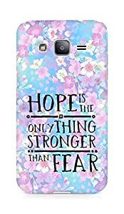 AMEZ hope is the only thing stronger than fear Back Cover For Samsung Galaxy J2