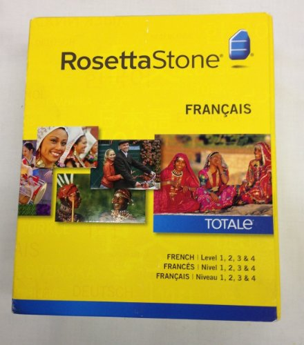 Rosetta Stone French Levels 1-4 Version 4