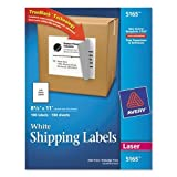 AVE5165 - Avery Shipping Labels with TrueBlock Technology