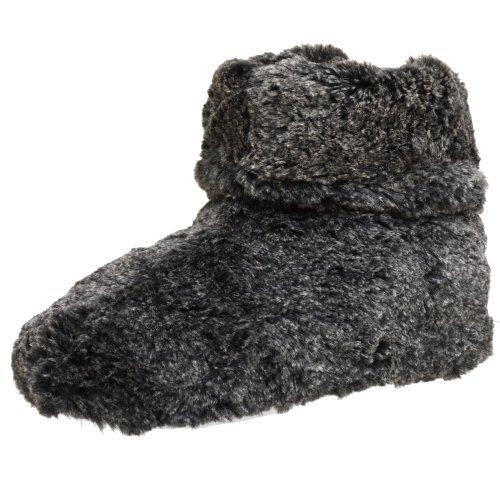 Cheap Dearfoams Women's Microfiber Pile Boot (B001CPKSWC)