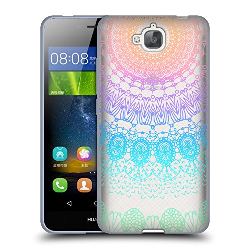 Ufficiale Monika Strigel Arcobaleno Pizzo Boho 2 Cover Morbida In Gel Per Huawei Enjoy 5 / Honor Play 5X