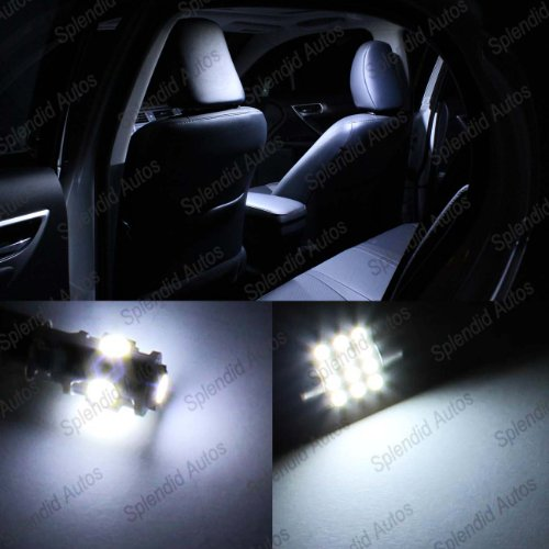 Splendid Autos Fiesta Interior Led Package 2011 And Up (Xenon White)