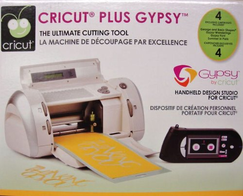 CRICUT Personal Machine + GYPSY HUGE 4 Cartridge