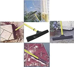 Rubber Push Broom
