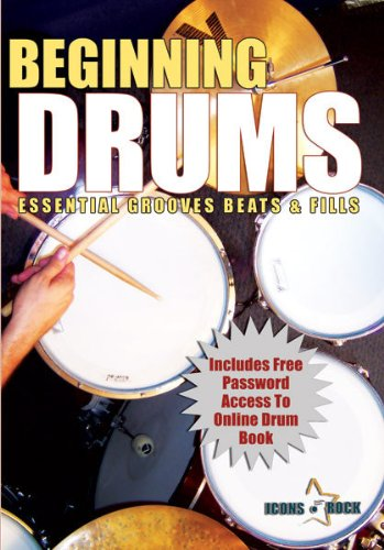 Beginning Drum Lessons Essential Grooves Beats & Fills