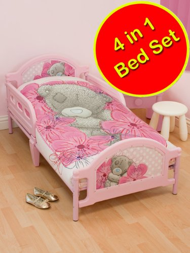 Me To You Precious 4 in 1 Junior Panel Bed Set (Duvet + Pillow + Covers)