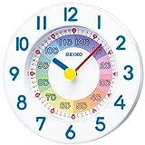 SEIKO CLOCK(セイコークロック) 知育時計 クオーツ掛時計(白塗装) KX619W KX619W
