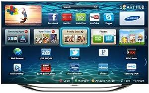 Samsung UN65ES8000 65-Inch 1080p 240Hz 3D Slim LED HDTV (Silver)