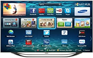 Samsung UN55ES8000 55-Inch 1080p 240Hz 3D Slim LED HDTV (Silver) (2012 Model)