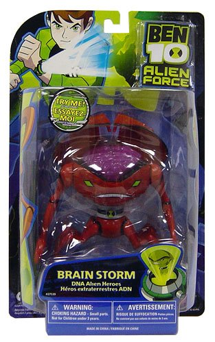51VlCrb21OL Cheap Price Ben 10 Alien Force 6 DNA Alien Heroes Brainstorm