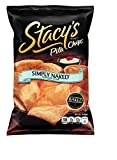 Stacys Pita Chips, Simply Naked, 1-Ounce Bags (Pack of 48)
