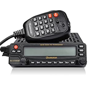 WOUXUN 2014 MODEL - KG-UV950P Quad-Band Radio U.V.SW MOBILE TRANSCEIVER RADIO EIGHT BANDS RECEPTION INCLUDING AM & SW from WOUXUN