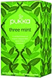 Pukka Three Mint Tea Organic Peppermint Spearmint and Fieldmint Tea -- 20 Tea Bags by Pukka