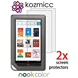 2 Pieces KOZMICC Anti-Glare Screen Protector for Nook Tablet, Nook Color Picture