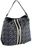 Tommy Hilfiger Canaan Hobo,Navy/White,one size