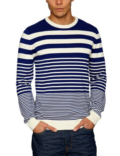esprit 023EE2I005 Men's Jumper Dark Harbour Blue XX-Large