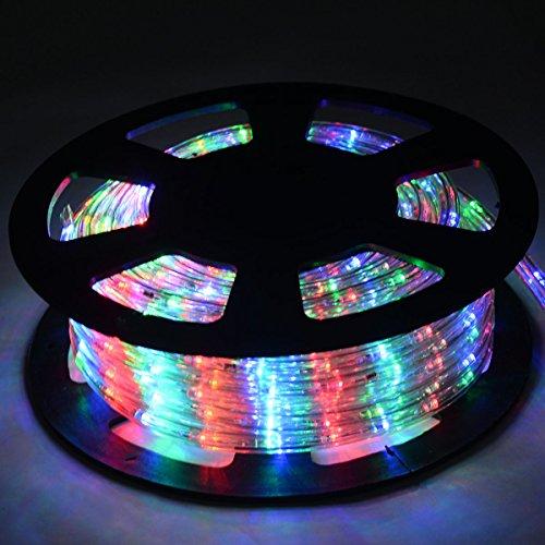 Goplus led lichterschlauch 10m 360led for Weihnachtslichterketten innen
