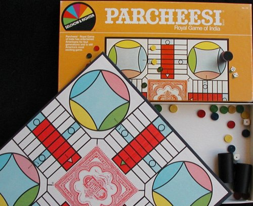 Parcheesi Game from 1982 - Buy Parcheesi Game from 1982 - Purchase Parcheesi Game from 1982 (Selchow Righter, Toys & Games,Categories,Games,Board Games)