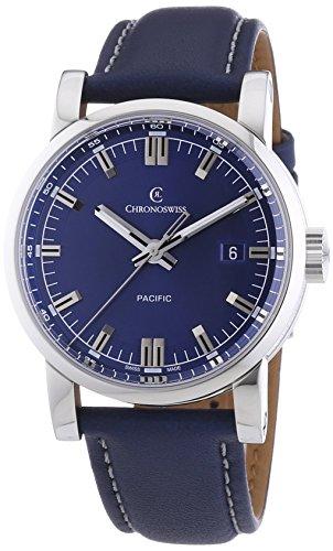 chronoswiss-pacific-herren-automatik-uhr-mit-blau-zifferblatt-analog-display-und-blau-gurt-2883bl