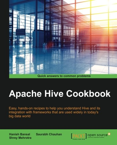 Apache Hive Cookbook, by Hanish Bansal, Saurabh Chauhan, Shrey Mehrotra