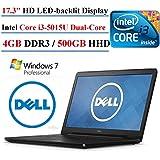 "2017 Dell Inspiron 17 5000 17.3"" HD+ Premium High Performance Laptop PC, Intel Core I3-5015U Processor 2.1GHz,..."
