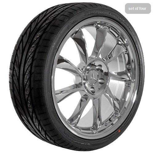 20 Inch Chrome 590 Series Wheels Rims and Tires