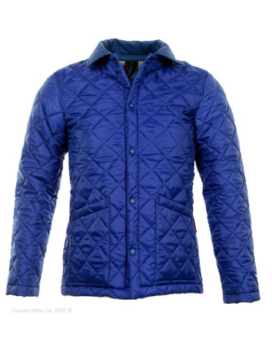 Lavenham Men's Shotley Quilted Jacket - Royal M