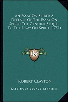 essays on spirit The spirit catches you and you fall down study guide contains a biography of anne fadiman, literature essays, quiz questions, major themes, characters, and a full summary and analysis.