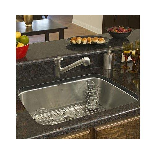 Franke usa large single bowl stainless steel undermount - Best caulk for undermount kitchen sink ...