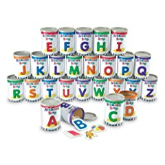 Learning Resources Alphabet Soup Sorters by Learning Resources