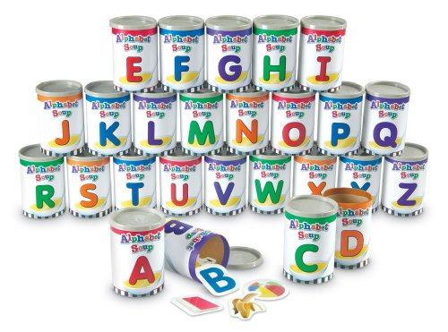 Learning Resources Alphabet Soup Sorters front-500706