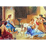 "Dolls Of India ""Beauties Of Greece"" Reprint On Paper - Unframed (28.57 X 20.96 Centimeters)"